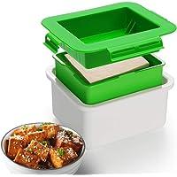 Tofu Press, Tofu Press Maker Tofu Presser Escurridor gadget, sin BPA, Presser de tofu integrado de drenaje para evitar…