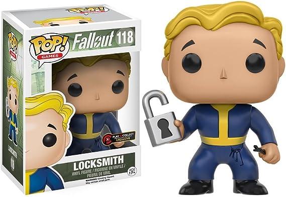 Funko 118 – Figura Pop de Fallout Vault Boy Locksmith: Amazon.es: Juguetes y juegos