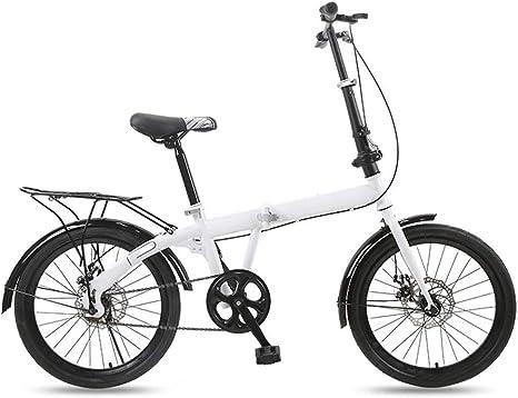 Bicicleta de montaña, bicicleta de viaje ligera, bicicleta plegable de 6 velocidades con freno de disco, bicicleta ergonómica plegable para mujer, bicicleta de cercanías para estudiantes adultos: Amazon.es: Deportes y aire libre