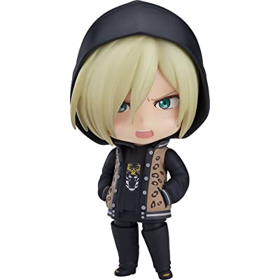 Orange Rouge Yuri!!! On Ice: Victor Plisetsky (Casual Version) Nendoroid Action Figure: Toys & Games