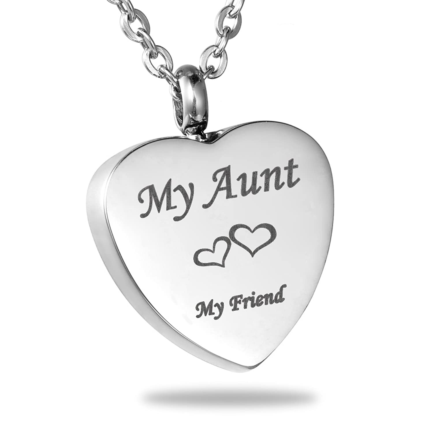heart jewelry gift and necklace i back the for amazon pendant aunt you dp love moon to com half