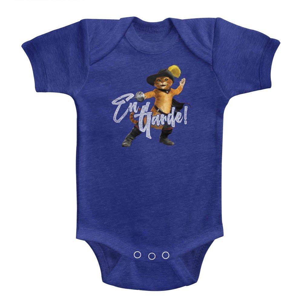 Shrek Infant Bodysuit En Garde Vintage Royal Romper