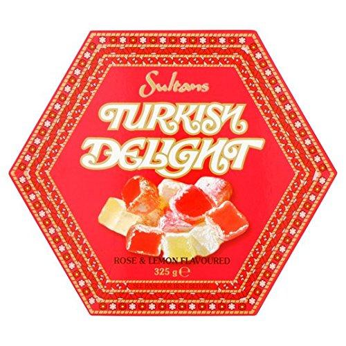 Sultans Rose & Lemon Turkish Delight 325G