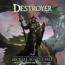 The Destroyer: Destroyer Series, Book 2 Audiobook by Michael-Scott Earle Narrated by Xe Sands, Kevin T. Collins