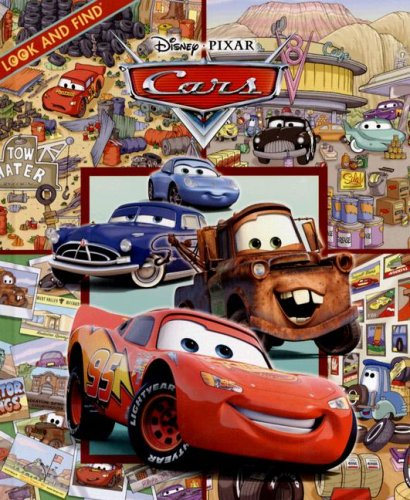 Cars (Look and Find) Caleb Burroughs