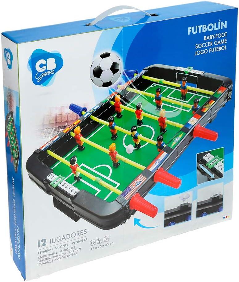 ColorBaby - Futbolín de mesa CBGames (42899): Amazon.es: Juguetes y juegos