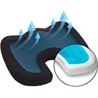 Coccyx Seat Cushion - Breathable Butt Pillows Office Wheelchair Accessories for Long Sitting Chair Cushion to Relieve…