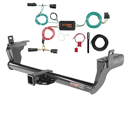 amazon com curt class 3 trailer hitch bundle with wiring for 2015 rh amazon com