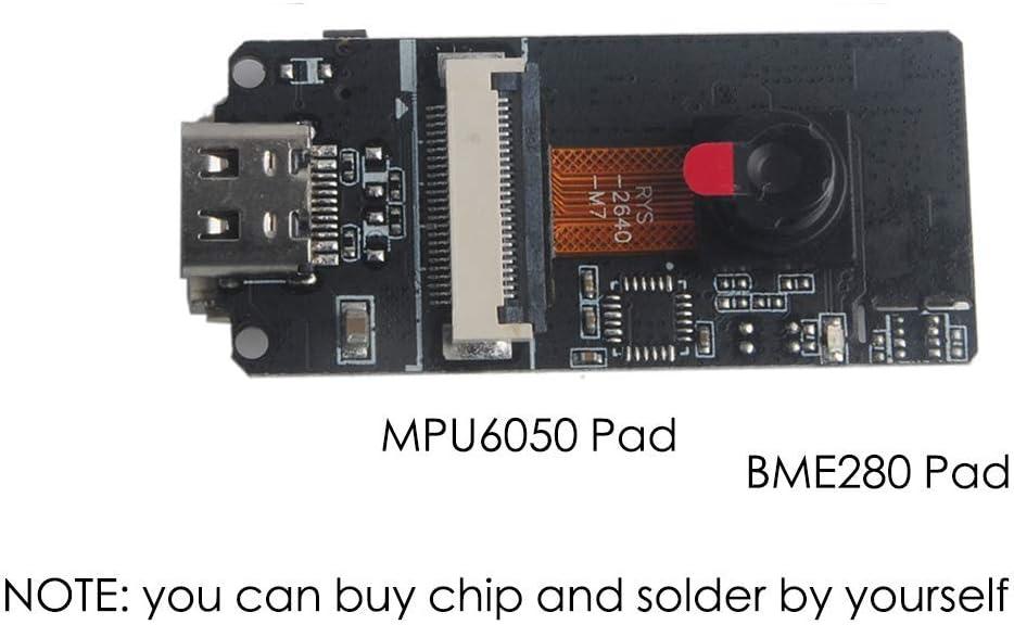 HUAZHU M5Stack ESP32CAM Development Board ESP32 Camera Module OV2640 Camera with Type-C Grove Port and 3D WiFi Antenna for Arduino Raspberry Pi DIY