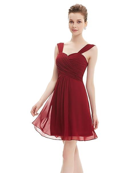 Ever Pretty - Vestido - para mujer granate 38