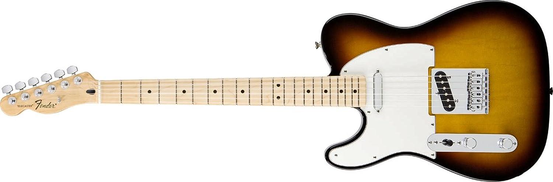 Fender フェンダー エレキギター?左効き用 Standard Telecaster Left Handed, Maple Fingerboard - Brown Sunburst B005N278J6 ブラウンサンバースト(左用)
