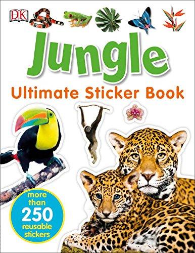 Ultimate Sticker Book: Jungle (Ultimate Sticker Books)