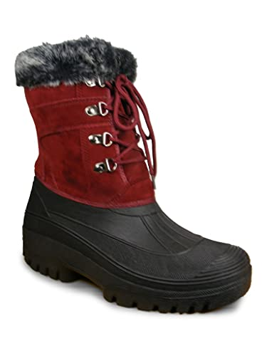 Ladies Mucker Easy Close Stable Yard Boots Wellies 4-8