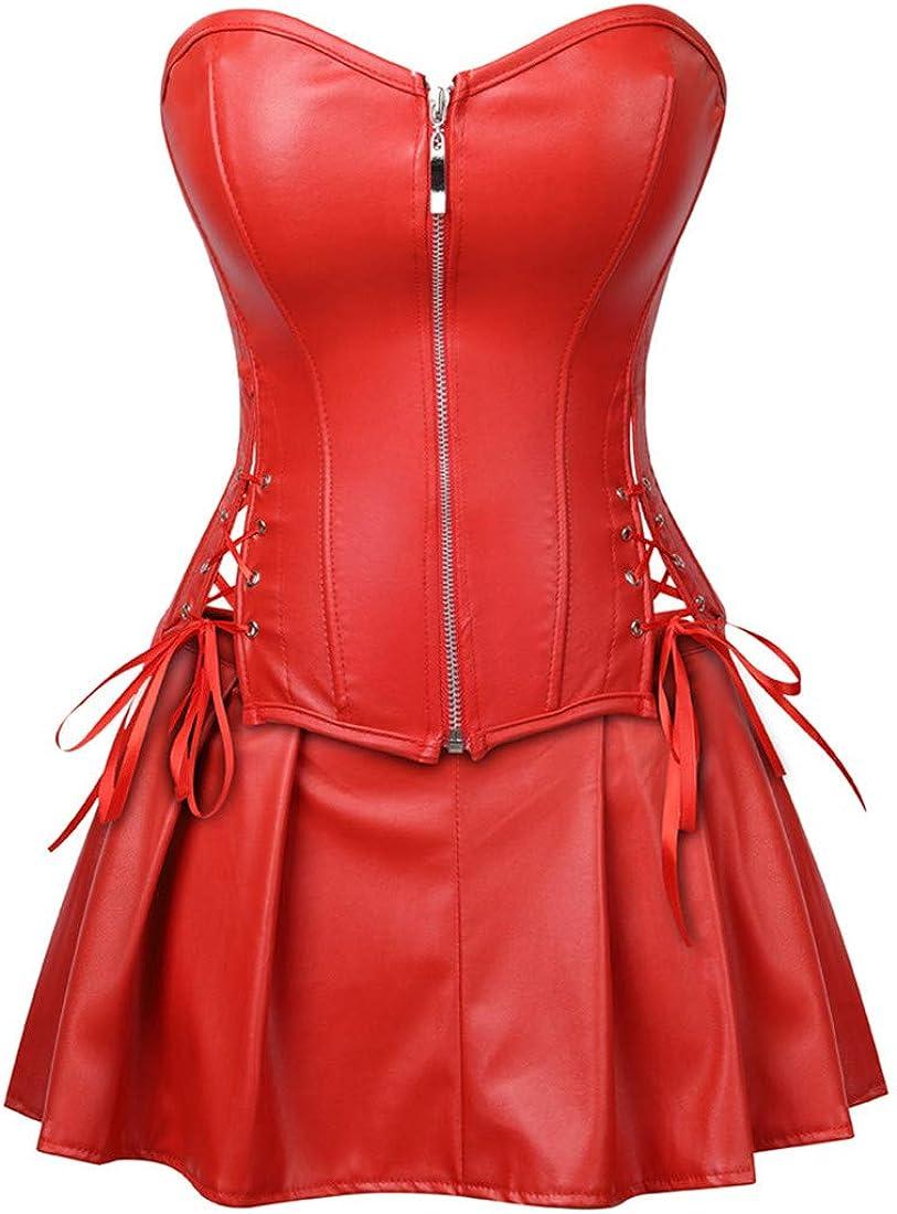 Zhitunemi Women Halloween Costume Gothic Victorian Corsets Burlesque Dresses Moulin Rouge