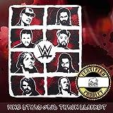 The Silver Buffalo WE121221 WWE Superstar Grid Ink