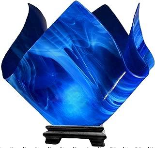 product image for Jezebel Radiance Large Flame Cobalt Blue Vase Lamp