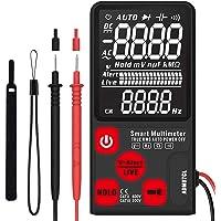 HoldPeak Mini Mult/ímetro Digital 4203A Pantalla 2999 Cuentas Soluci/ón de Problemas El/éctricos Herramienta Bolsillo Probar Voltaje//Corriente de CA//CC Diodo Resistencia Capacitancia Continuidad