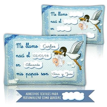 Peluches con mensaje - Almohada para bebe personalizada 35cm ...