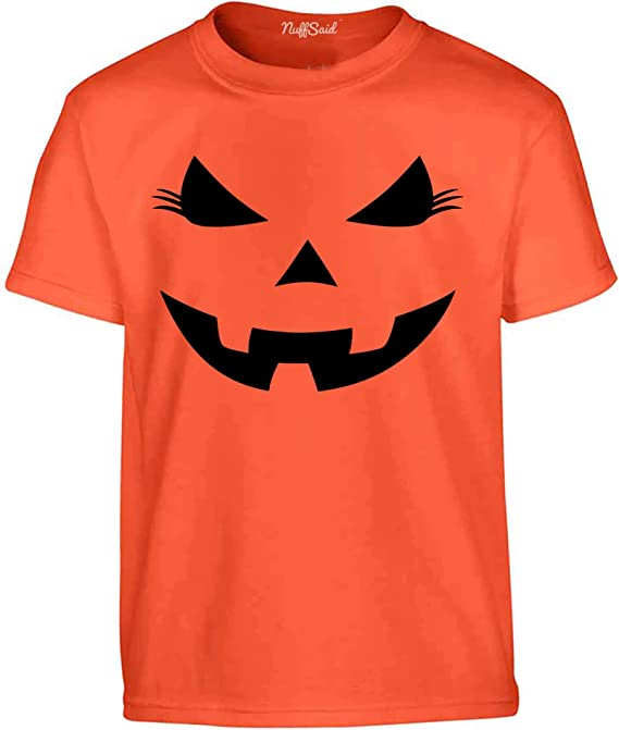 12 Colours Originals Face Kids Halloween Scary T-Shirt Unisex