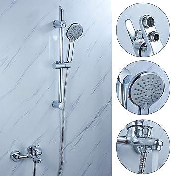 Bad Wasserfall Wannenarmatur Badwanne Armaturen Duschset mit Handbrause de DHL