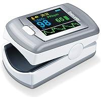 Beurer PO 80 pulsoksymetr pulsu, pomiar nasycenia tlenu (spO₂) i tętna (puls), ciągły zapis przez 24 godziny…