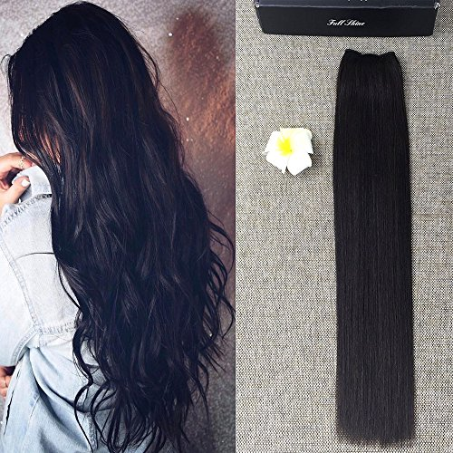full-shine-22inch-100-brazilian-remy-hair-flip-in-human-hair-extensions-doubel-weft-halo-hair-mircal