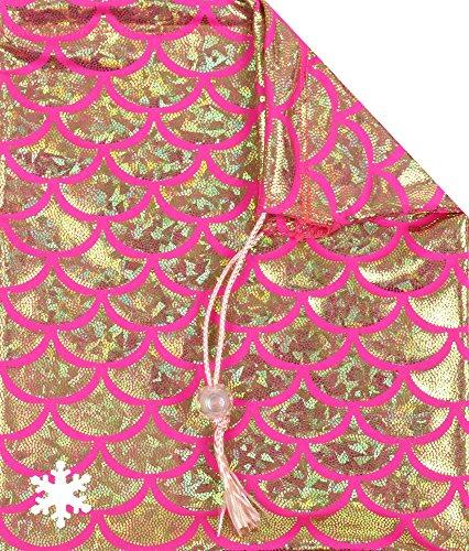 Cheap Snowflake Designs Pink Seaside Gymnastics Grip Bag