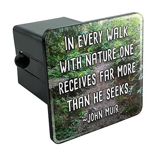 Graphics and More in Every Walk with Nature John Muir Tow Trailer Hitch Cover Plug Insert 2