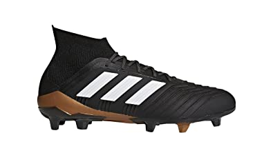 adidas predator fg calcio maschile galloccia (nero