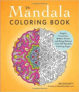 the mandala coloring book inspire creativity reduce stress and bring balance with 100 mandala. Black Bedroom Furniture Sets. Home Design Ideas