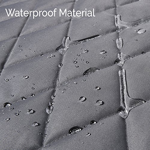Cargo Liner For SUV's and Cars, Waterproof Material, non Slip Backing, With Side Walls Protectors, Extra Bumper Flap Protector, Large Size - Universal Fit by Jumbl Pet (Image #4)