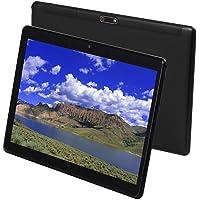 Tableta Tabletas de teléfono Android 9.0 de 3G de 10 Pulgadas con 64GB de Almacenamiento Tarjeta SIM Dual Cámara de 5MP, WiFi, Bluetooth, GPS, Octa Core, Pantalla táctil HD (Negro)