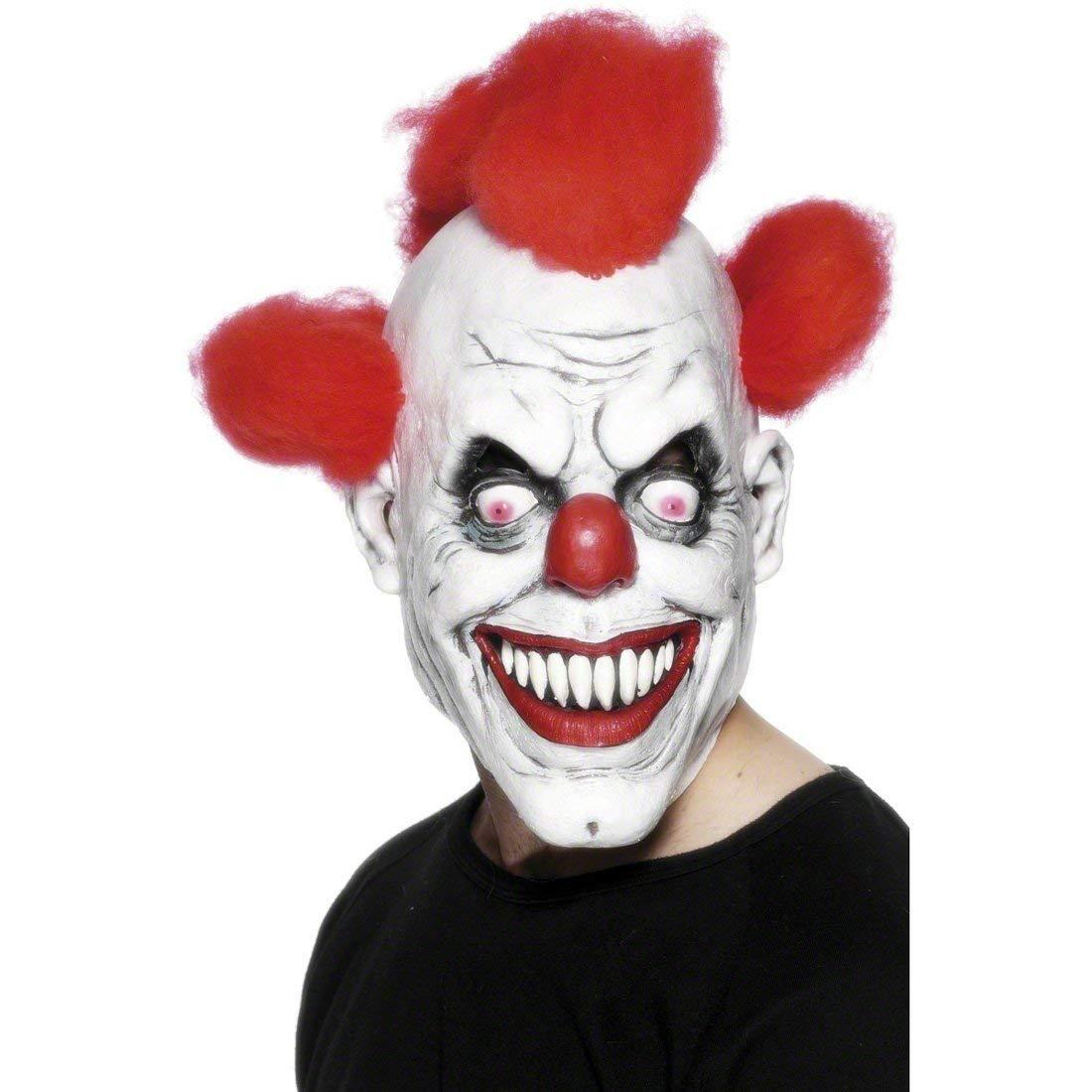 Smiffys Clown 3/4 Latex Mask