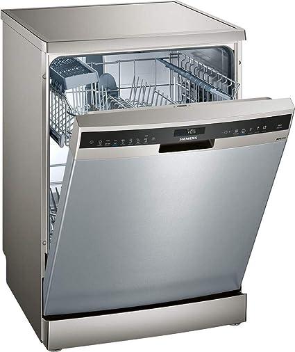 Siemens iQ500 SN258I02IE 13cubiertos A+++ lavavajilla - Lavavajillas (Acero inoxidable, Tamaño completo (60 cm), Acero inoxidable, Tocar, 1,75 m, 1,65 ...