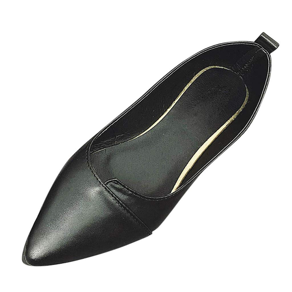 de38e3e86974a DENER❤ Women Ladies Comfortable Flats Shoes, Leather Pointed Toe ...