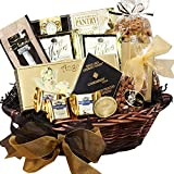 Gifts Flowers Food Best Deals - Art of Appreciation Gift Baskets With Heartfelt Sympathy Gift Basket, Medium (Chocolate)
