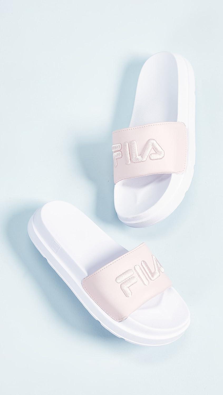 Fila Women's Drifter US White/Fila Slide Sandal B07C35JHLT 6 M US White/Fila Drifter Navy/Fila Red 274d79