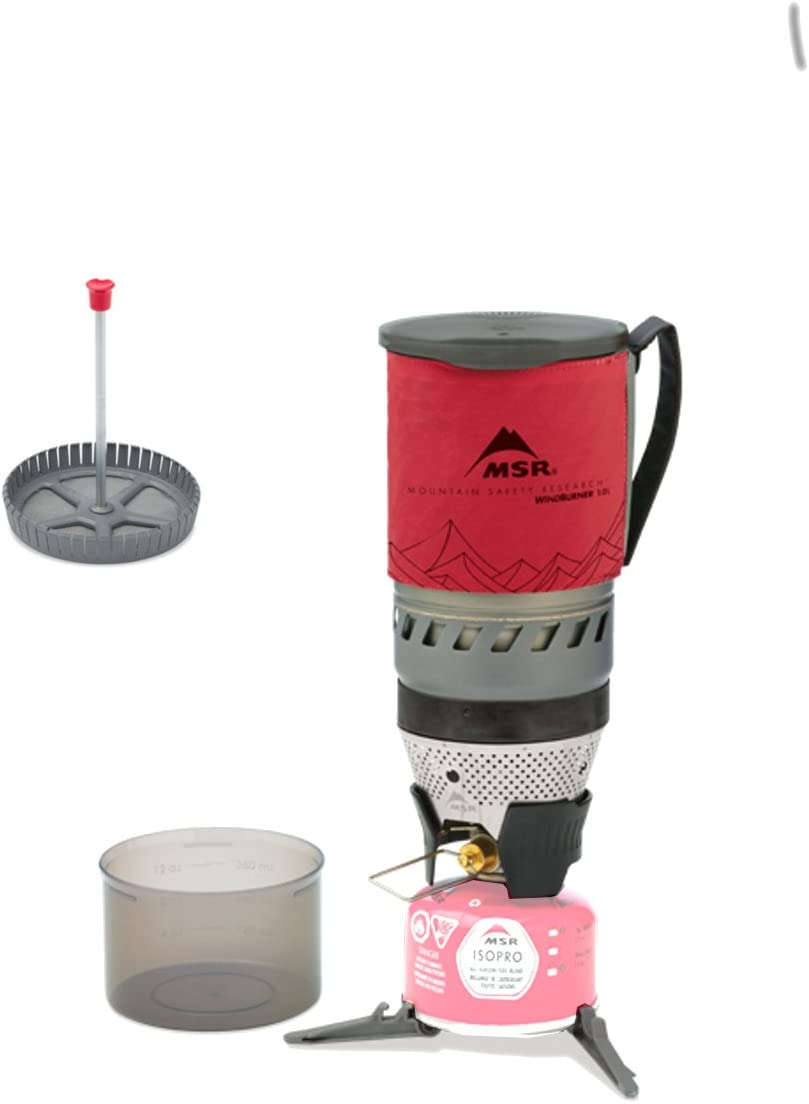 MSR Windburner 1.0 L Sistema Personal De La Estufa