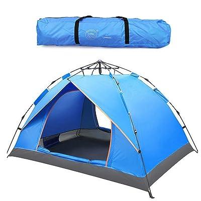 Extérieur 2-3 personnes Pop-up Tentes Sports Camping randonnée tente de voyage avec sac de transport