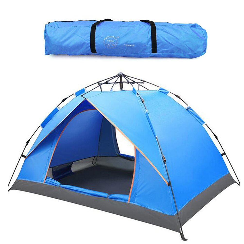 Outdoor 2-3 Person Pop Up Zelte Sport Camping Wandern Reisezelt mit Tragetasche