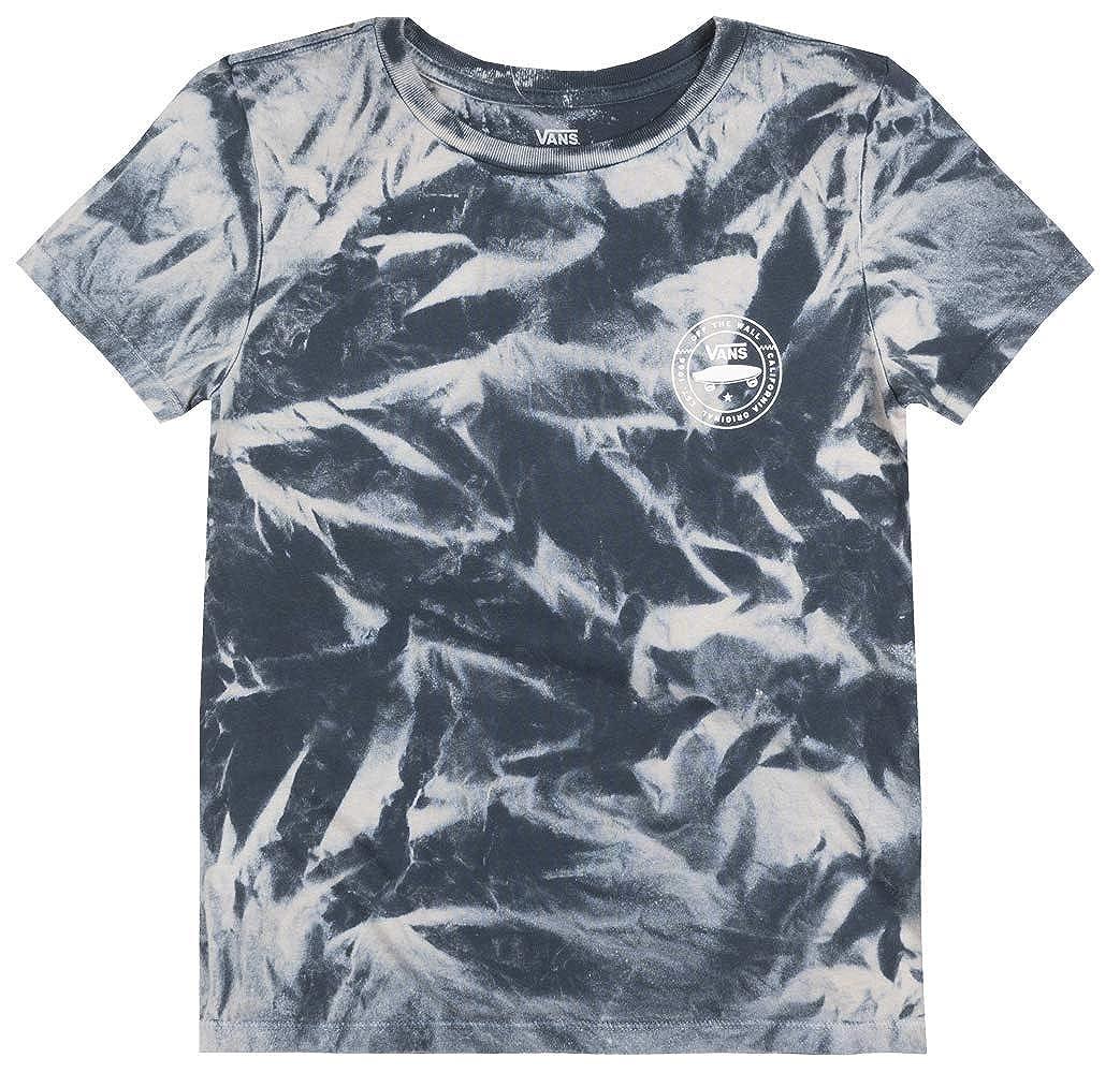 23621fc876 Amazon.com  Vans Off The Wall Vintage TIE DYE T-Shirt Womens Skateboard TEE  Dark Slate  Clothing