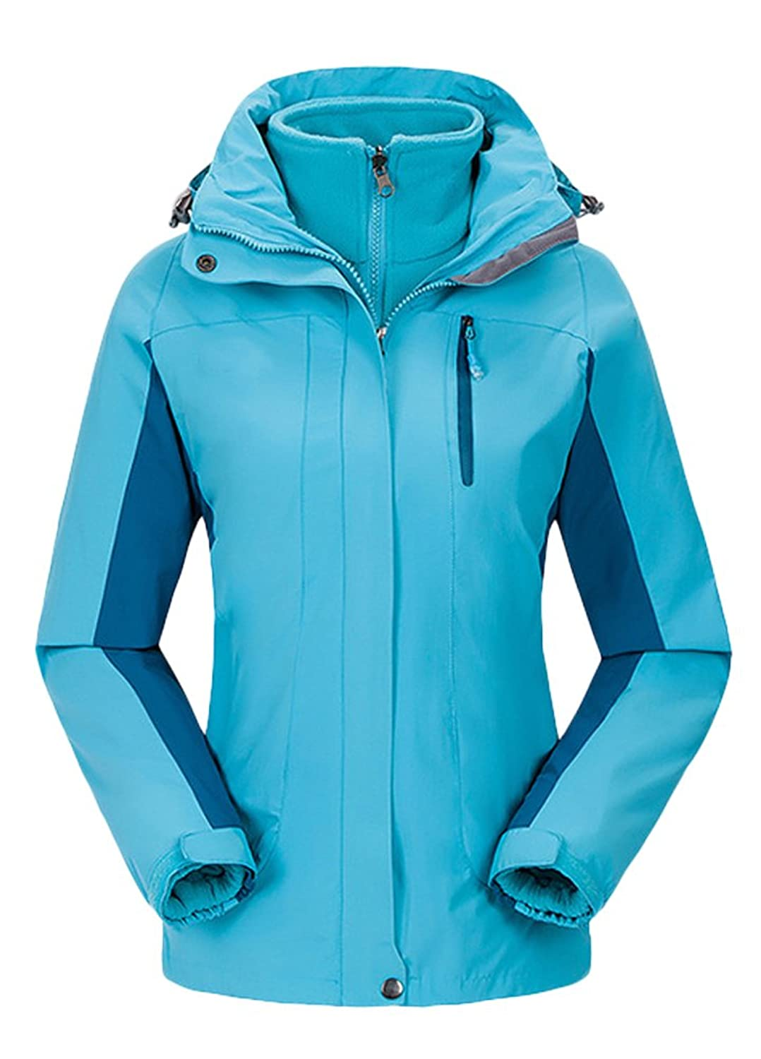 Minibee Women's Windproof/Waterproof Outdoor Sportswear Jacket