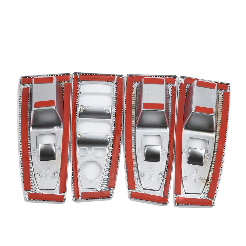 Pro Braking PBF1599-RED-BLU Front Braided Brake Line Red Hose /& Stainless Blue Banjos