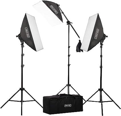 Fovitec 2500 Watt 50 X 71 Cm Softbox Foto Video Kamera