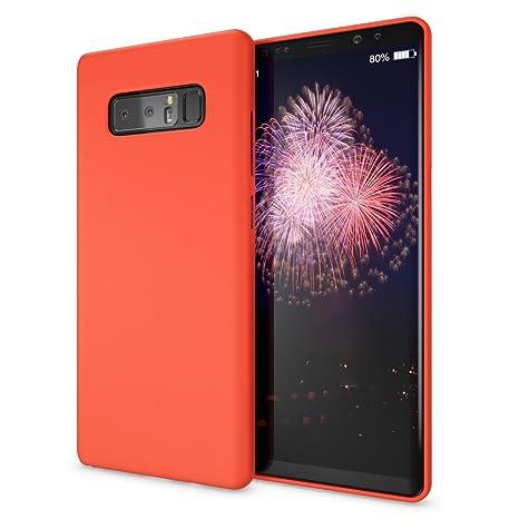 NALIA Funda Neon Compatible con Samsung Galaxy Note 8, Carcasa Protectora Movil Silicona Ultra-Fina Gel Bumper, Ligera Goma Cubierta Cobertura Delgado ...
