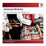 Brahms: Hungarian Dances No. 1-21; Waltzes, Op. 39 for Piano for Four Hands by Tal & GroethuysenWhen sold by Amazon.com, this product will be manufactured on demand using CD-R recordable media. Amazon.com's standard return policy will apply.