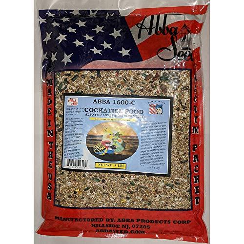 Abba 1600-C Cockatiel Seed Diet 5 Lb