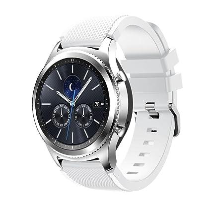 Logobeing Correas para Relojes Samsung Gear S3 Frontier Banda de Pulsera de Silicona Deportiva Nueva Moda