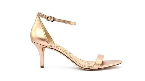 e67f8b29c SEM EDELMAN Women s Fashion Sandals gold Platinum  Amazon.co.uk  Shoes    Bags