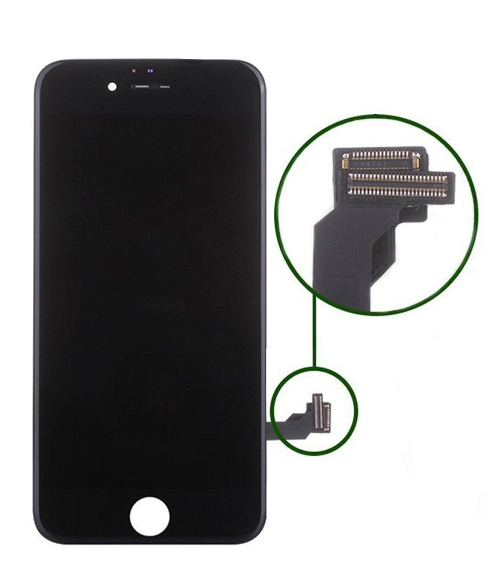 Replacement Screen LCD Display Digitizer Assembly complete full set for iPhone 7 4.7 inch (black) including repair tool kit